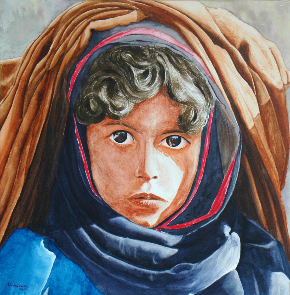 2010 - Ragazza di Mauritania - 35x35 -