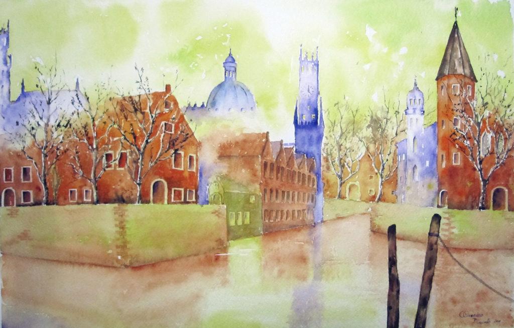 2011 - Bruges n. 2 - 55 x 35 -