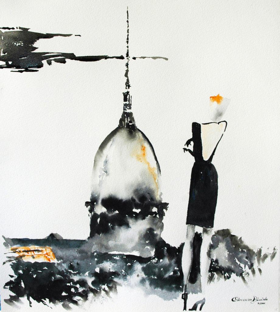 2011 - La Mole nera - 34 x 28 - -