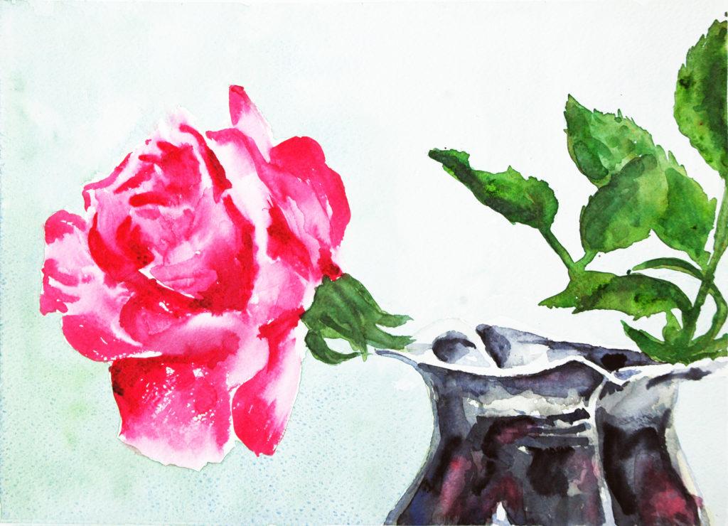 2011 - Rosa - 37x26,5 -