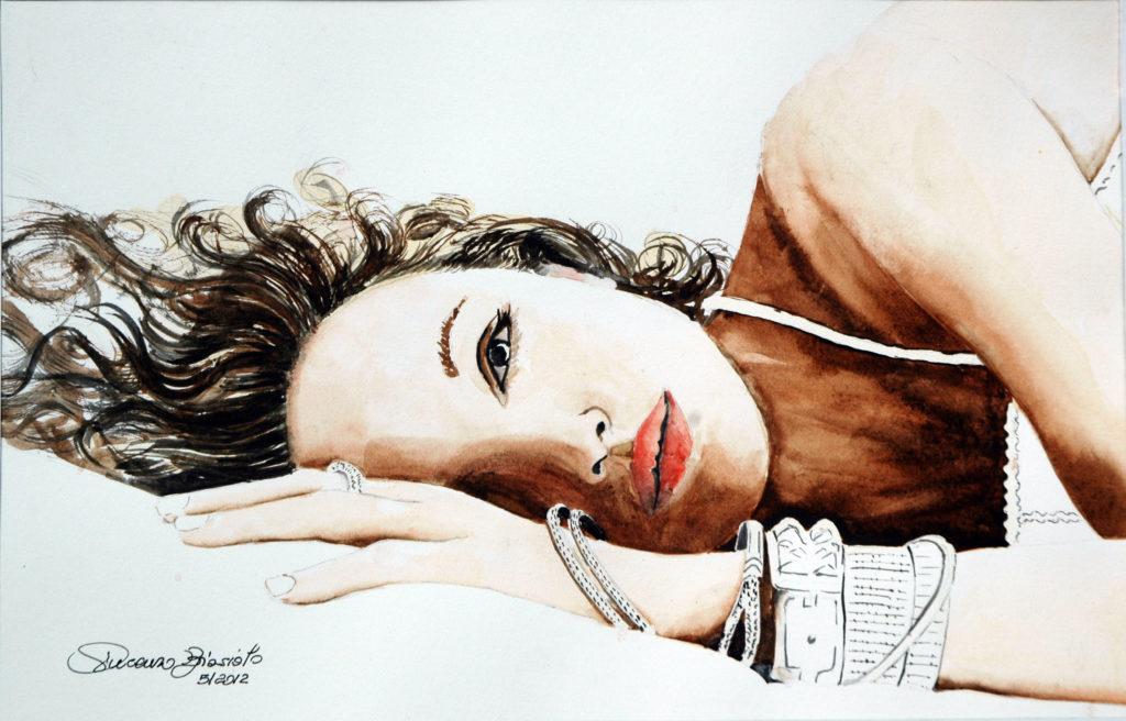 2012 - Ritratto - 28 x 18 - Arches satinata 300 gr