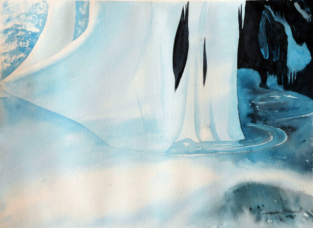 2012 - Val di Funes - 36,5 x 26,5 - Arches 300 gr