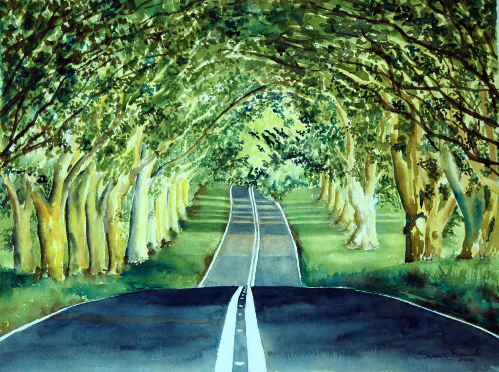 2012 - Viale Cansiglio - 48 x 36 - Arches 300 gr