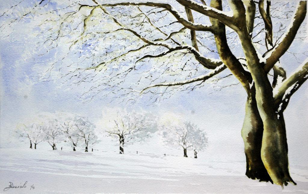 2013 - Inverno - 37 x 23 - Arches 300 gr
