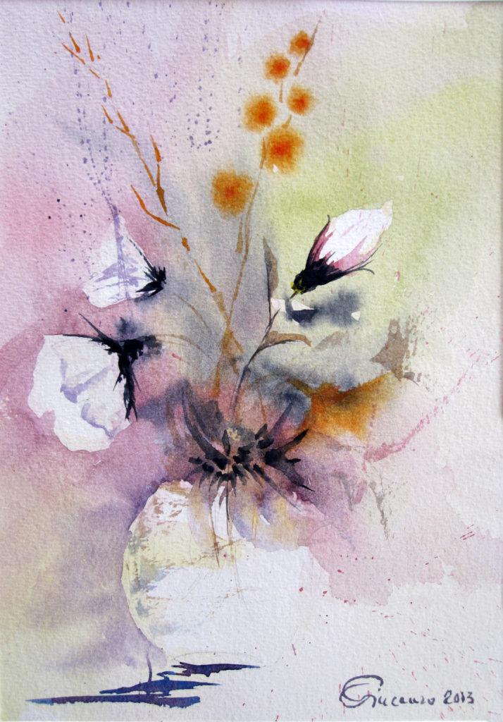 2013 - Salvina in fiore - 17 x 24 - Fabriano 300 gr