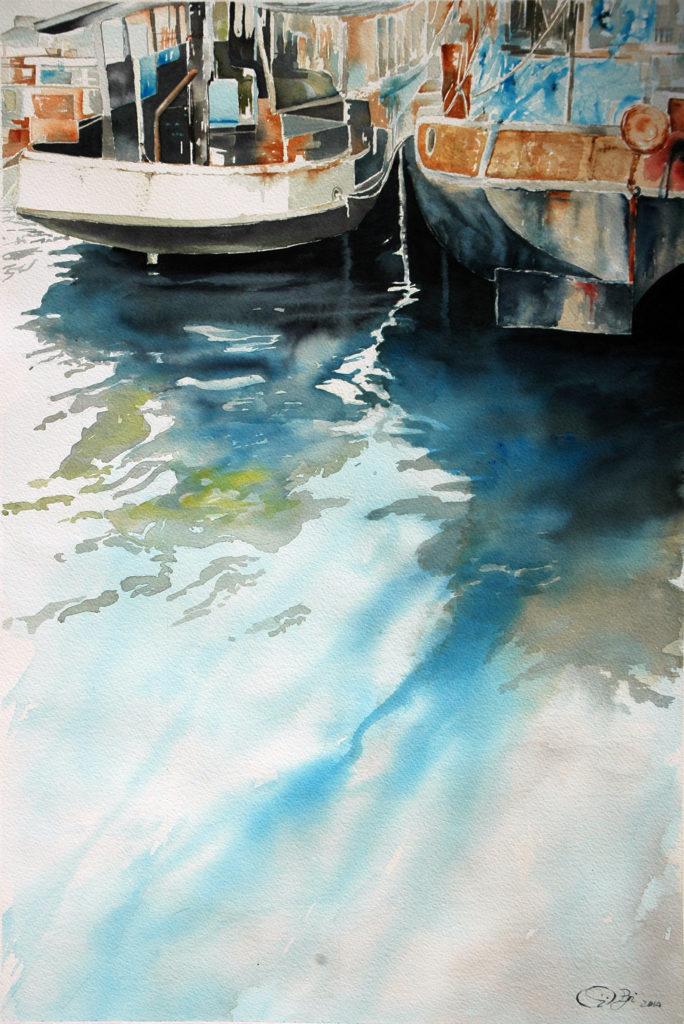 2014 - Le barche di Swolfs n. 1- 56 x 38 - Arches 300