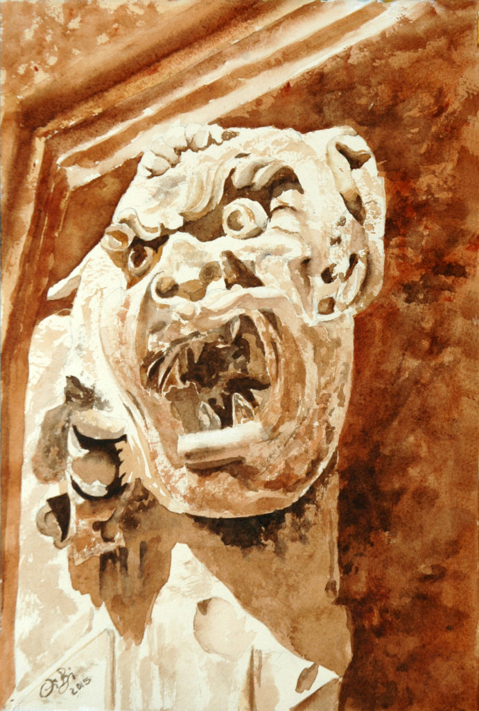 2015 - Grottesco n. 2 - 19 x 28 - Fabriano 300 gr