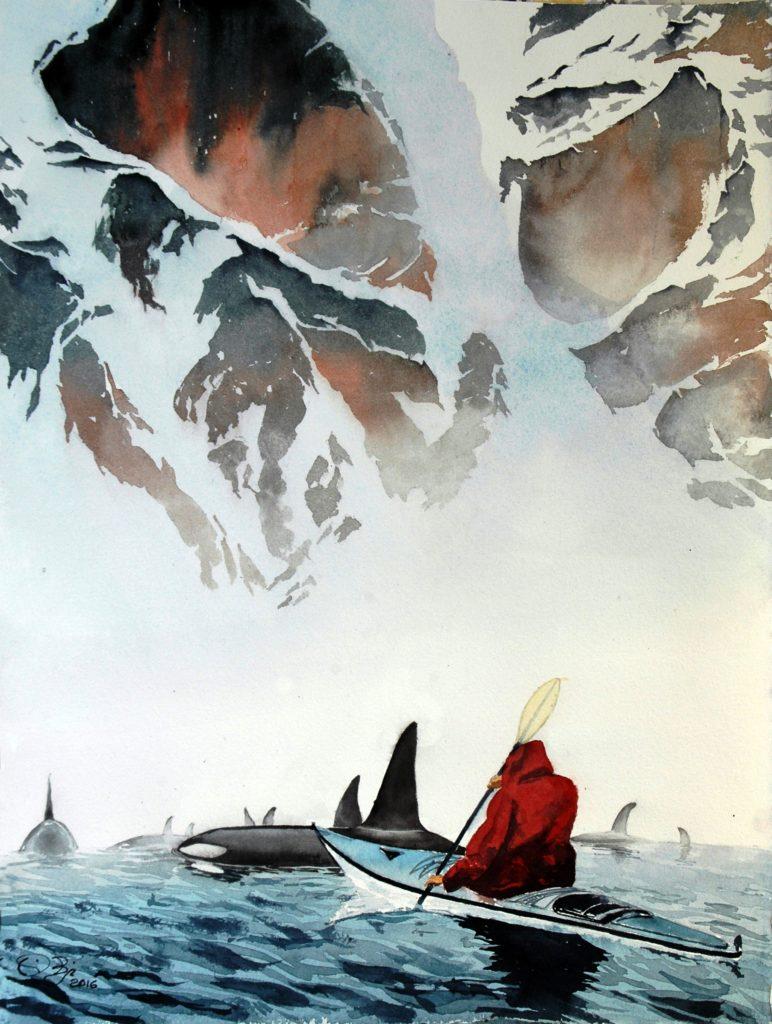 2016 - Polo Nord n. 1 - 28 x 38 - Arches 300 gr