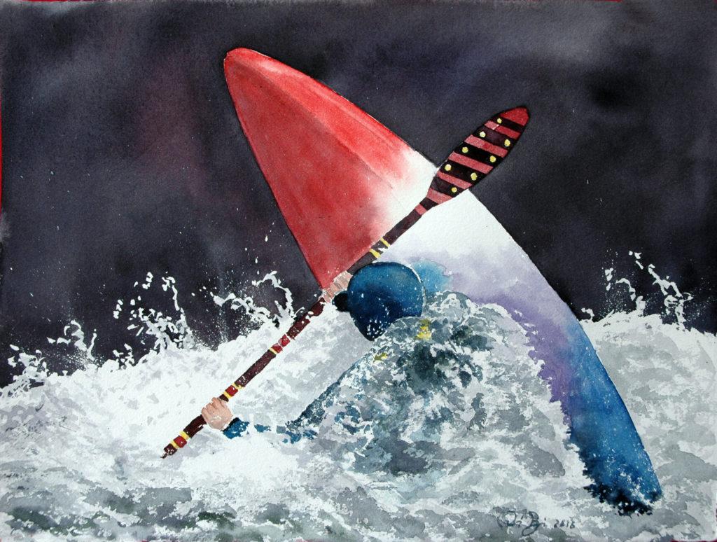 2016 - Rafting n. 2 - 38 x 28 - Arches 300 gr
