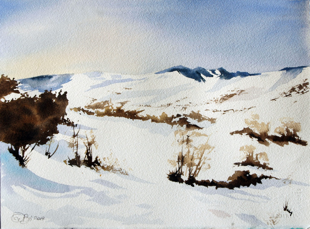 2017 - Inverno n. 1 - 38 x 28 - Arches 300 gr