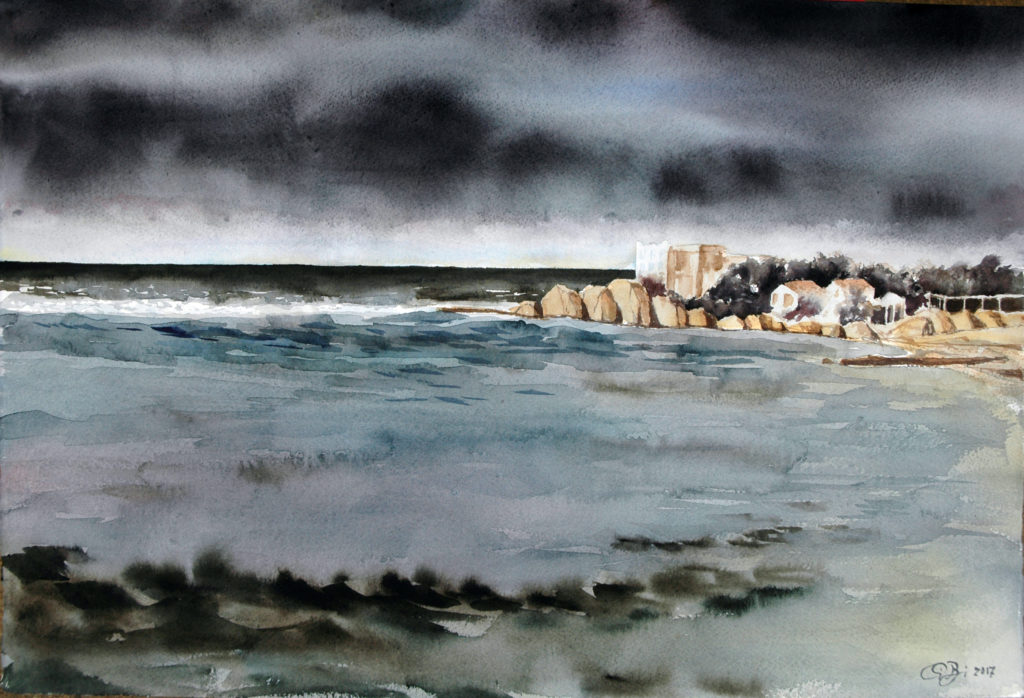 2017 - Puntasecca n. 3 - 57 x 38 - Arches 300 gr