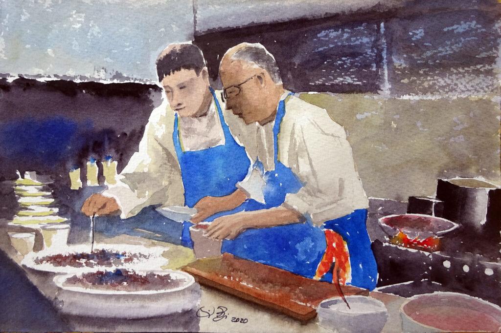 2020 - In cucina n. 13° - 31 x 20,5 - Sanders 300 gr