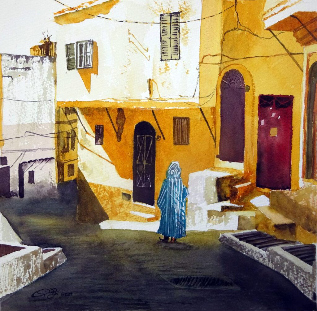 2021 - Viaggio in Marocco n. 2bis - Marco, 30 x 30 Sanders 300 gr